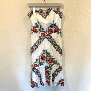 Adelyn Rae Dresses - New Adelyn Rae Hailey Embroidered Lace dress